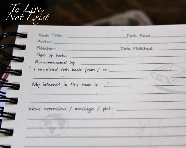 Book Journal - 2