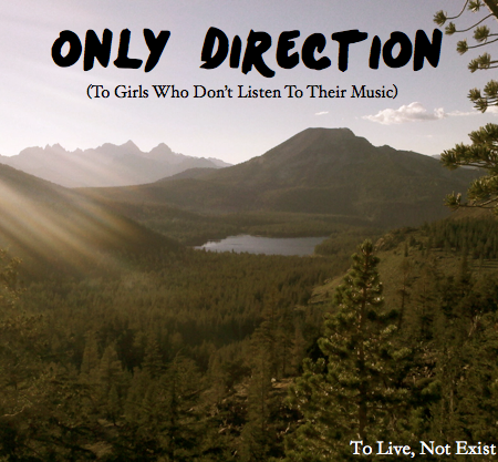 Only Direction: To Girls Who don't listen to their music